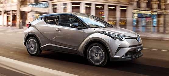 Toyota C-HR - דגם חדש
